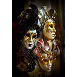 Stickers muraux déco : masque carnaval