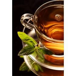 Stickers muraux déco : tasse de thé à la menthe