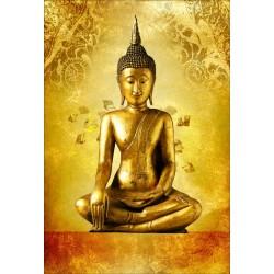 Stickers muraux déco : Bouddha
