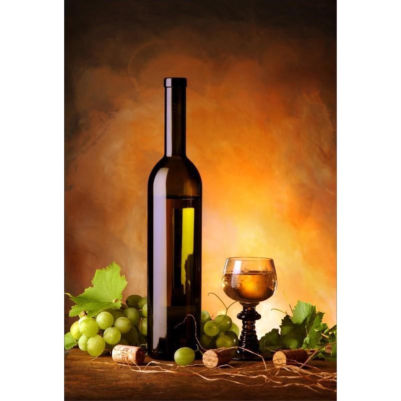 stickers muraux d co bouteille de vin art d co stickers. Black Bedroom Furniture Sets. Home Design Ideas