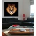 Sticker Tete de Lion