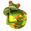 Sticker Grenouille Ma Planete