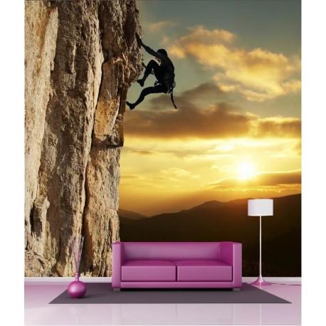 papier peint g ant d co escaladeur 250x250cm art d co stickers. Black Bedroom Furniture Sets. Home Design Ideas