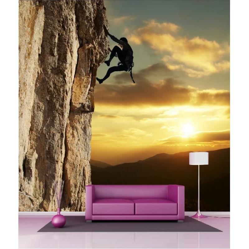 papier peint g ant d co escaladeur 250x250cm art d co. Black Bedroom Furniture Sets. Home Design Ideas