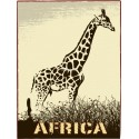 Sticker Africa girafe