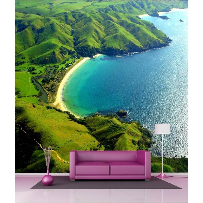 papier peint g ant d co crique 250x250cm art d co stickers. Black Bedroom Furniture Sets. Home Design Ideas