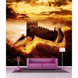 Papier peint géant déco grande muraille de Chine 250x250cm