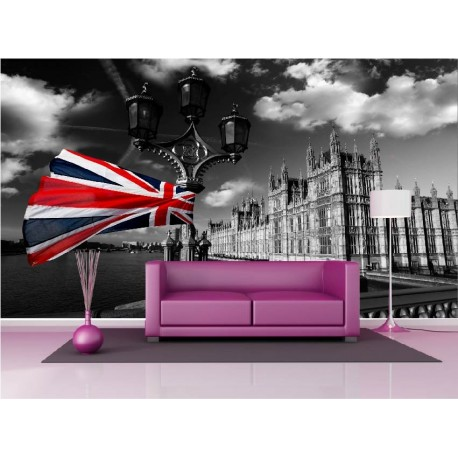 papier peint londres papier peint g ant london. Black Bedroom Furniture Sets. Home Design Ideas