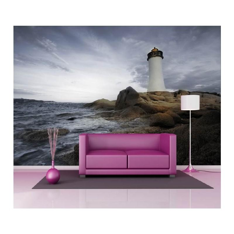 papier peint g ant d co phare 250x360cm art d co stickers. Black Bedroom Furniture Sets. Home Design Ideas