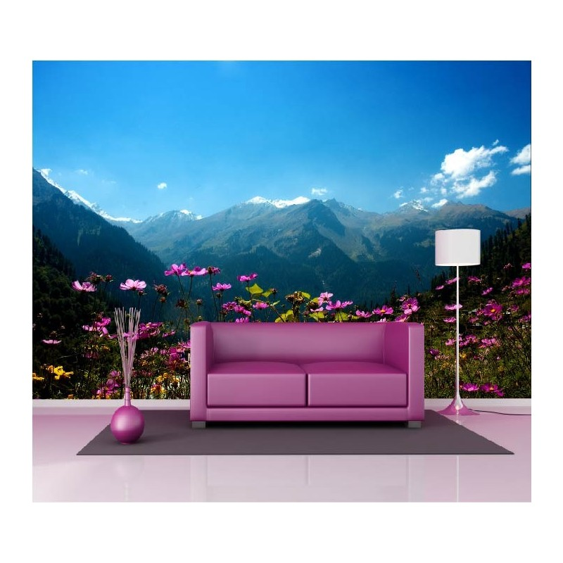 papier peint g ant d co montagne 250x360cm art d co stickers. Black Bedroom Furniture Sets. Home Design Ideas