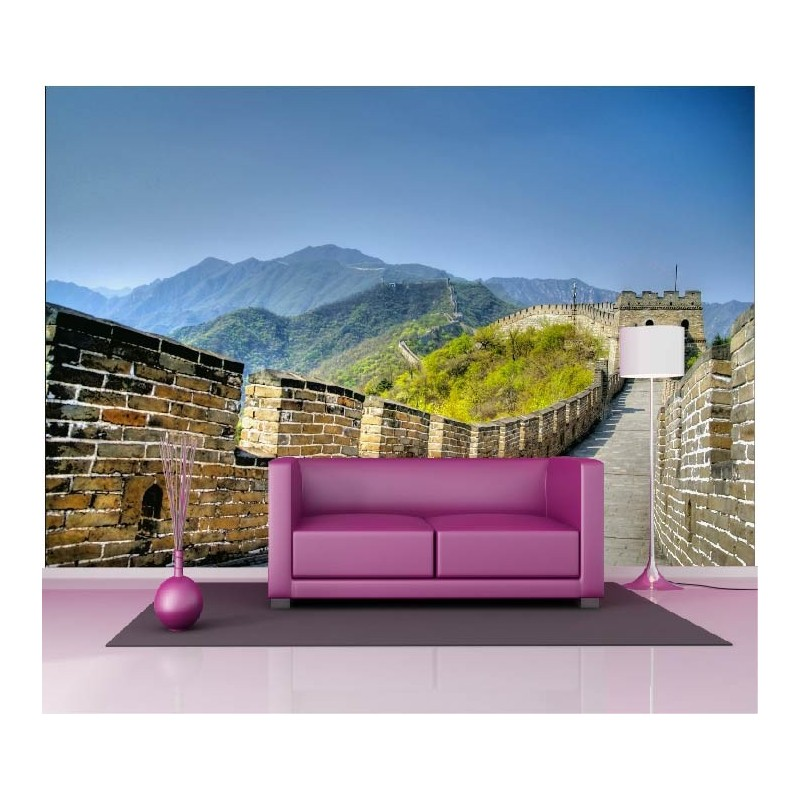 papier peint g ant d co muraille de chine 250x360cm art d co stickers. Black Bedroom Furniture Sets. Home Design Ideas