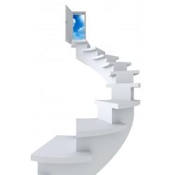 Sticker Trompe l'oeil Escalier