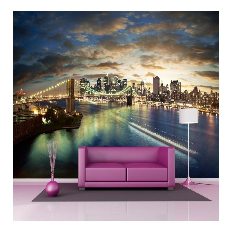 papier peint g ant d co new york 250x360cm art d co stickers. Black Bedroom Furniture Sets. Home Design Ideas