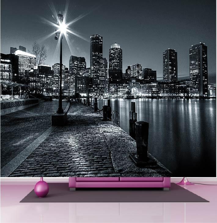 great finest best papier peint gant dco new york noir et blanc xcm art with credence new york. Black Bedroom Furniture Sets. Home Design Ideas