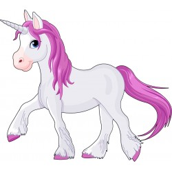 Stickers enfant Licorne