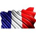Sticker drapeau Français