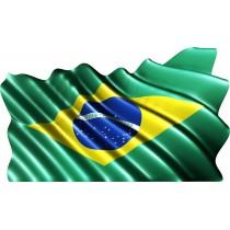 Sticker drapeau Brésilien