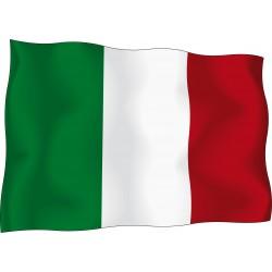 Sticker drapeau Italien