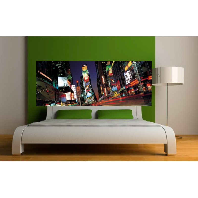 stickers t te de lit new york city art d co stickers. Black Bedroom Furniture Sets. Home Design Ideas