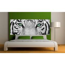 Stickers tête de lit Yeux de Tigre