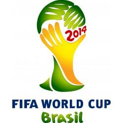 Stickers Fifa coupe du monde Brésil 2014