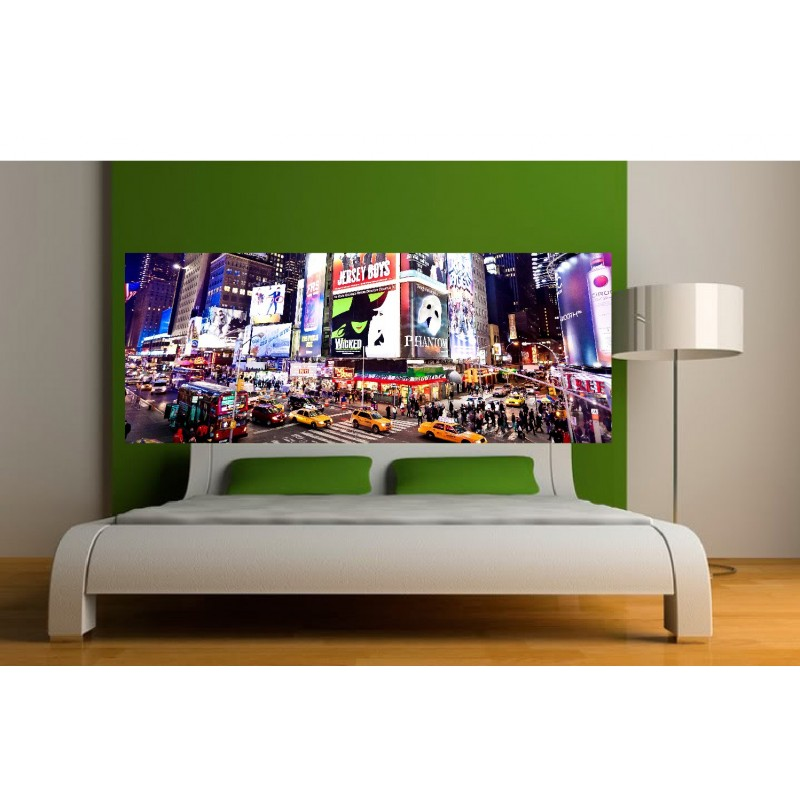 stickers t te de lit new york art d co stickers. Black Bedroom Furniture Sets. Home Design Ideas