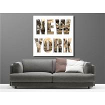 Tableaux toile déco carré New York