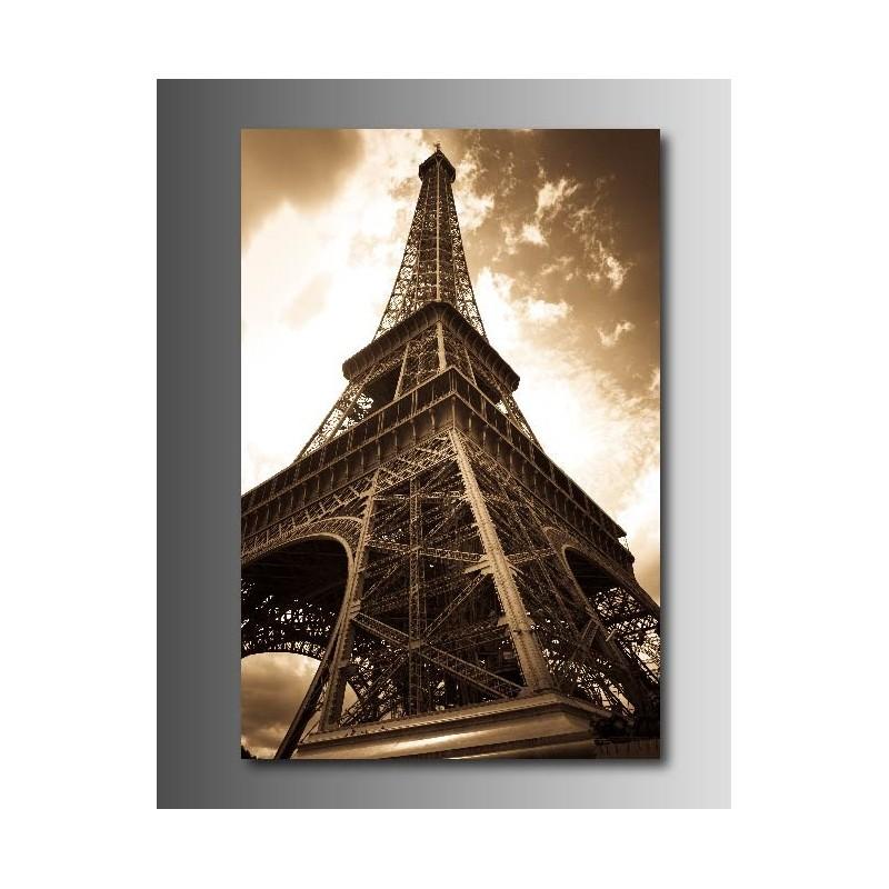 Tableaux toile d co tour eiffel 51220213 art d co stickers - Tour eiffel deco ...