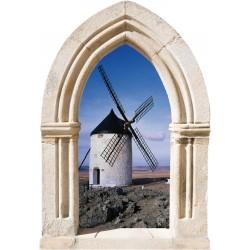 Sticker Arche Moulin à Vent