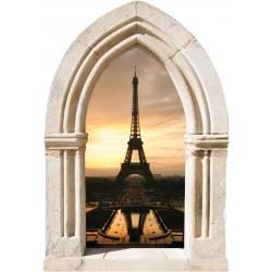 Sticker Arche Tour Eiffel Trocadero