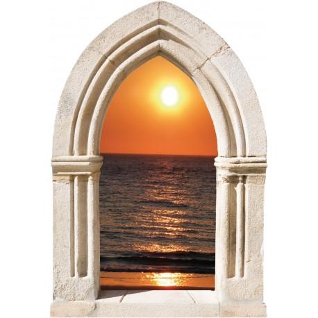 Sticker Arche Couché de Soleil