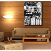 Tableaux toile déco rectangle verticale lave vaisselle