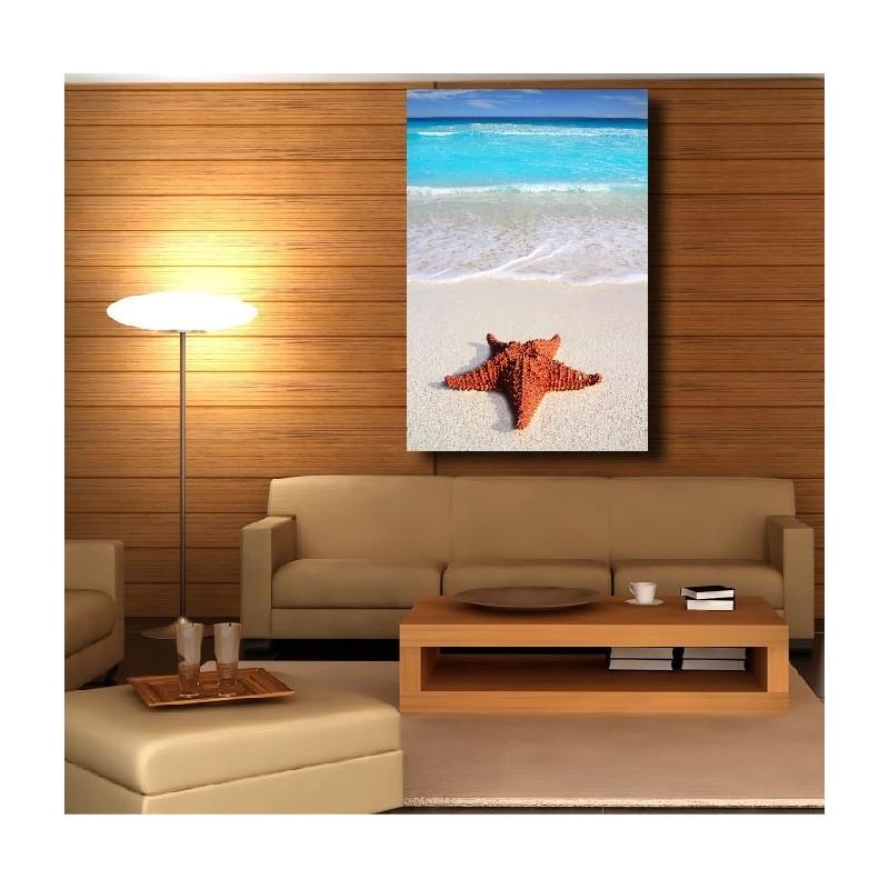 tableaux toile d co rectangle verticale toile de mer art d co stickers. Black Bedroom Furniture Sets. Home Design Ideas