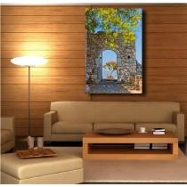 Tableaux toile déco rectangle verticale belle vue