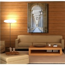 Tableaux toile déco rectangle verticale couloir