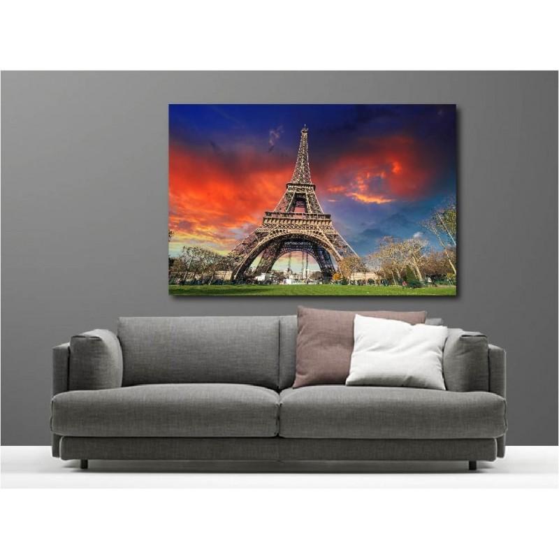 tableaux toile d co tour eiffel 51220213 5 art d co stickers. Black Bedroom Furniture Sets. Home Design Ideas