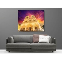 Tableaux toile déco rectangle cathédrale