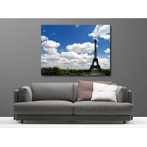 Tableaux toile déco rectangle Tour Eiffel