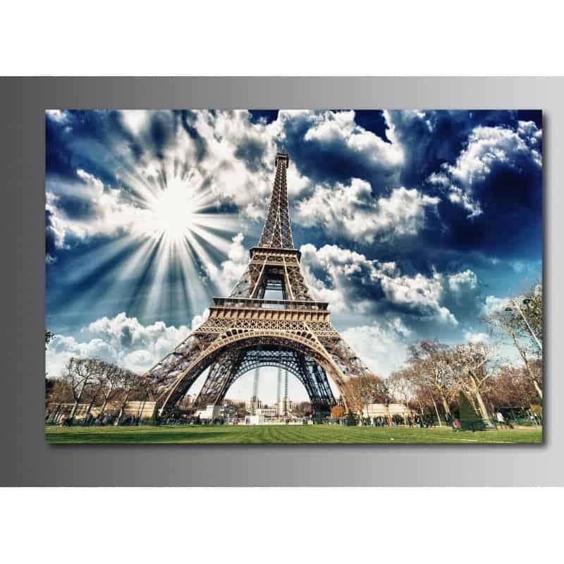 Tableaux toile d co tour eiffel 51220213 20 art d co stickers - Tour eiffel deco ...