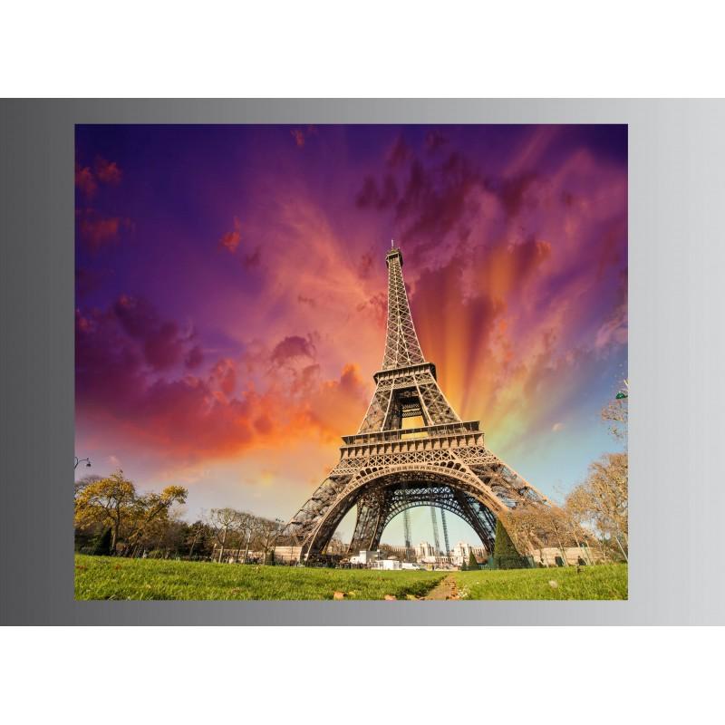tableaux toile d co tour eiffel 51220213 21 art d co stickers. Black Bedroom Furniture Sets. Home Design Ideas