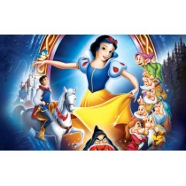 Stickers ou Affiche poster Blanche neige