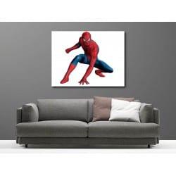 Tableaux toile déco rectangle spiderman