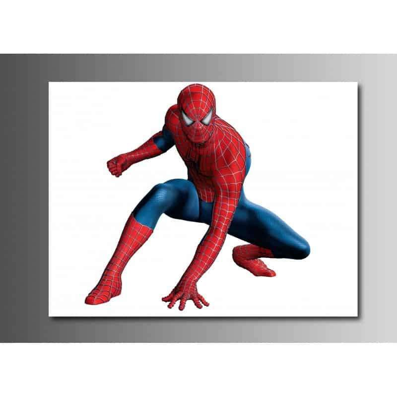tableaux toile d co rectangle spiderman art d co stickers. Black Bedroom Furniture Sets. Home Design Ideas