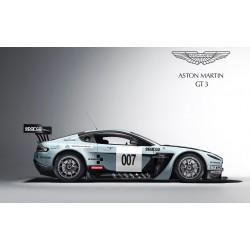 Stickers ou Affiche poster voiture Aston Martin v12 vantage gt3