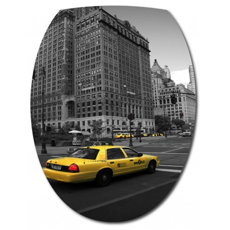 Sticker Abattant de WC Taxi New York
