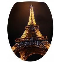 Sticker pour WC abattant Tour Eiffel