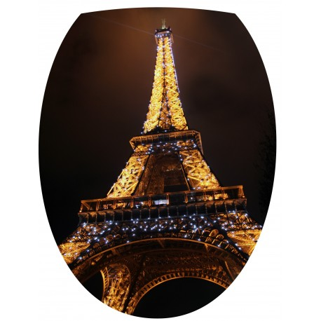 Sticker Abattant de WC Tour Eiffel