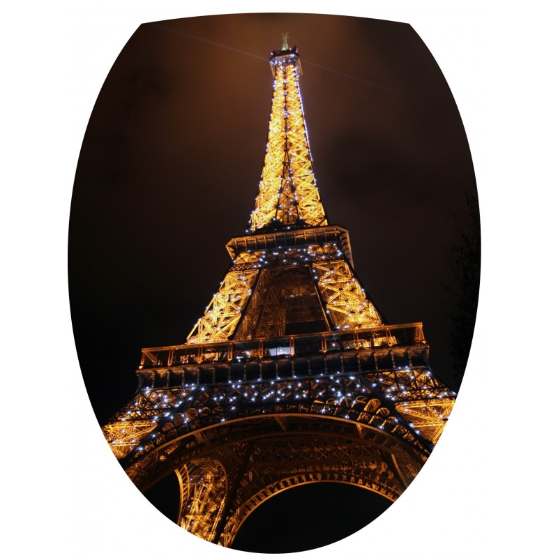sticker pour wc abattant tour eiffel art d co stickers. Black Bedroom Furniture Sets. Home Design Ideas