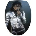 Sticker Abattant de WC Michael Jackson