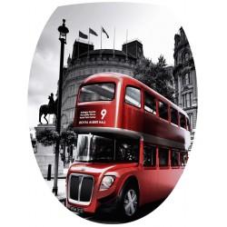 Sticker WC Bus Londres